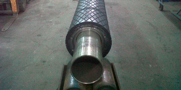 conveyor pulley lagging