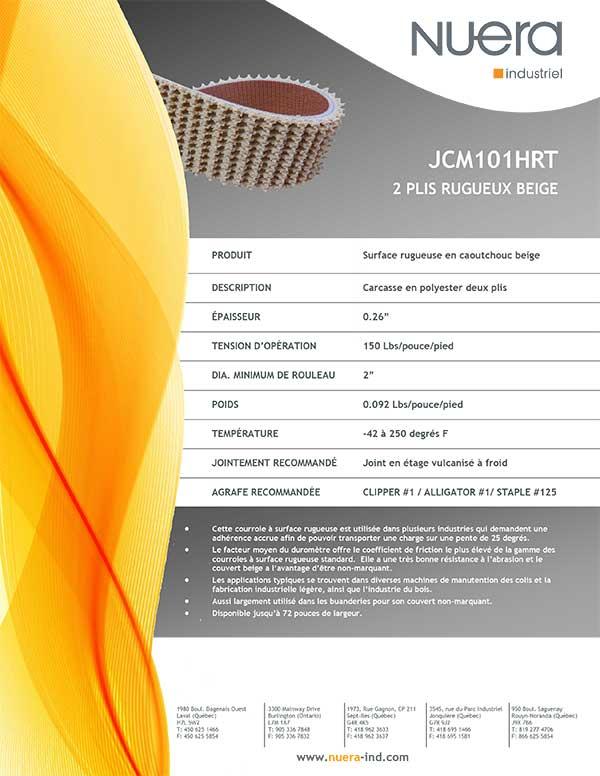 Courroie JCM101HRT