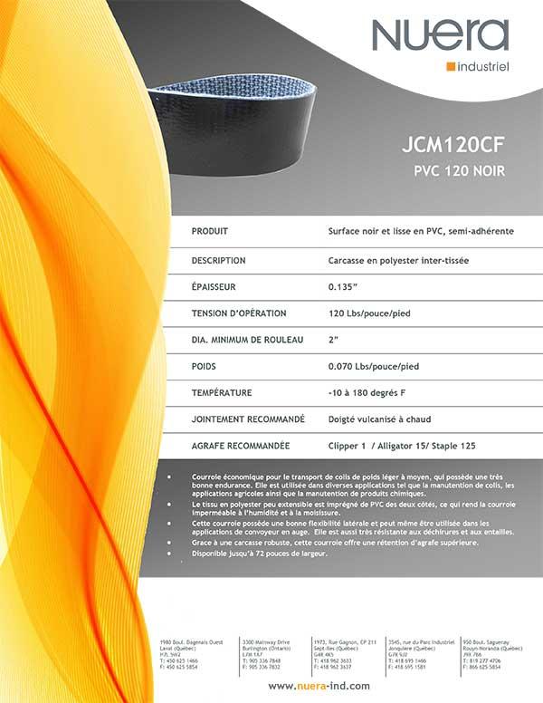 Courroie JCM120CF