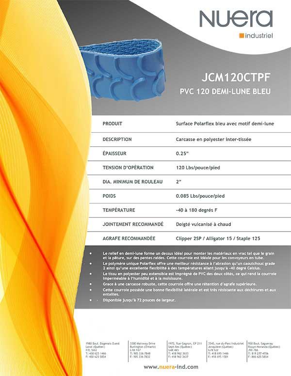 Courroie JCM120CTPF