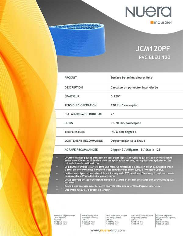 Courroie JCM120PF