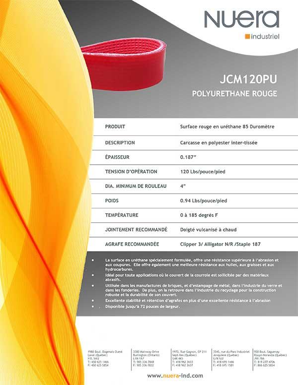 Courroie JCM120PU