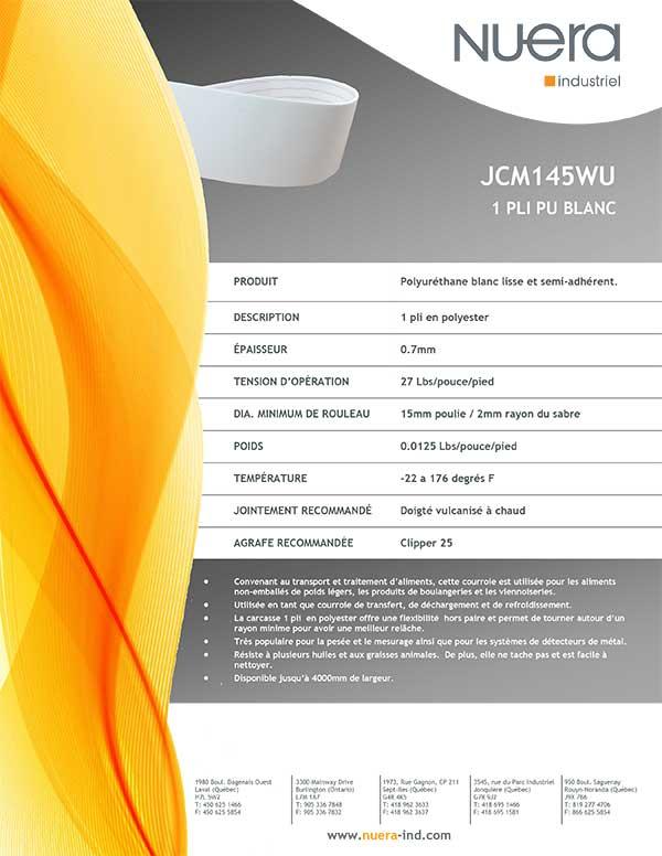 Courroie JCM145WU2