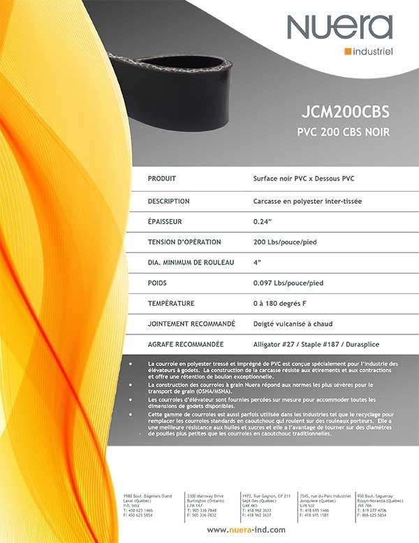 Courroie JCM200CBS