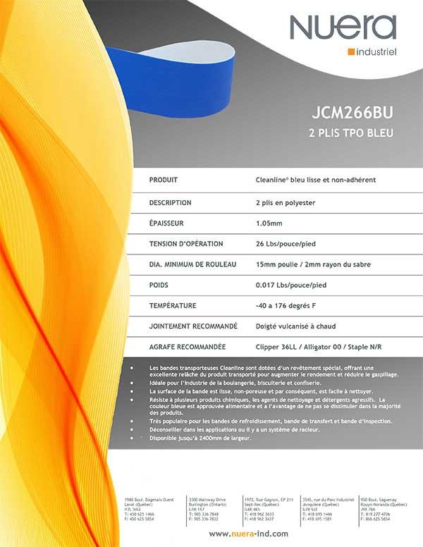 Courroie JCM266BU