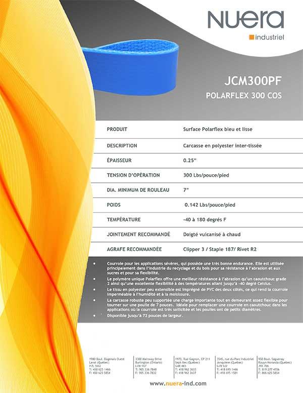 Courroie JCM300PF