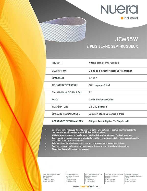 Courroie JCM55W2