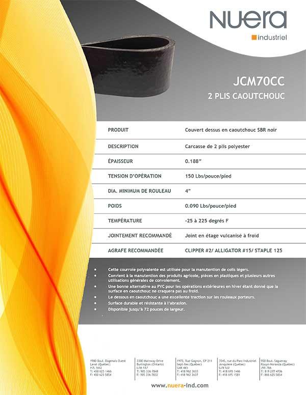 Courroie JCM70CC