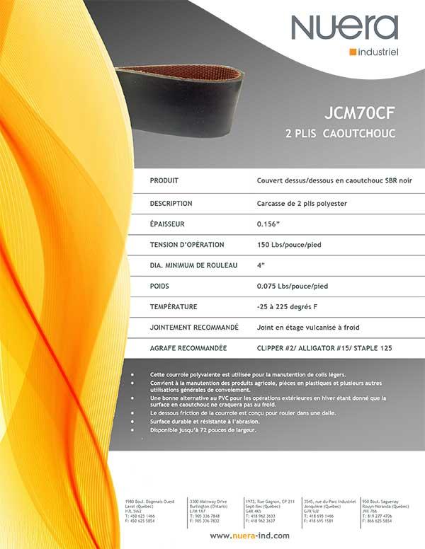 Courroie JCM70CF