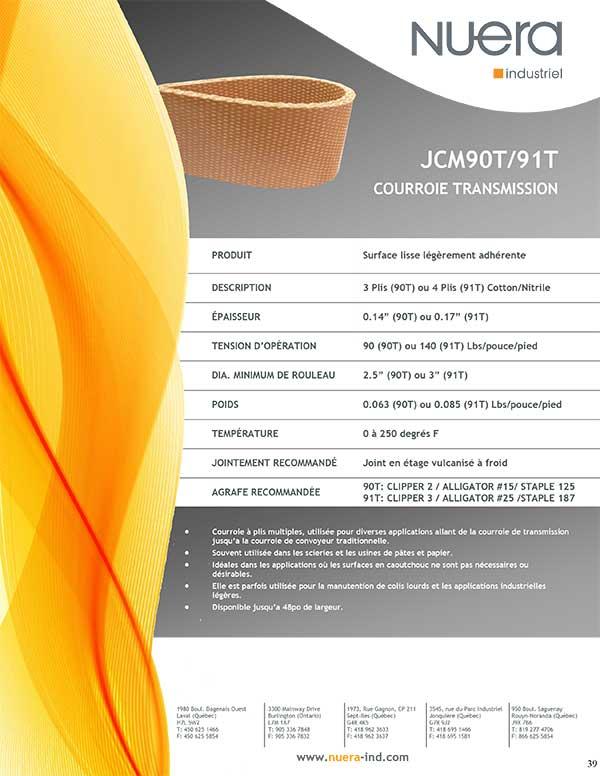 Courroie JCM90T2